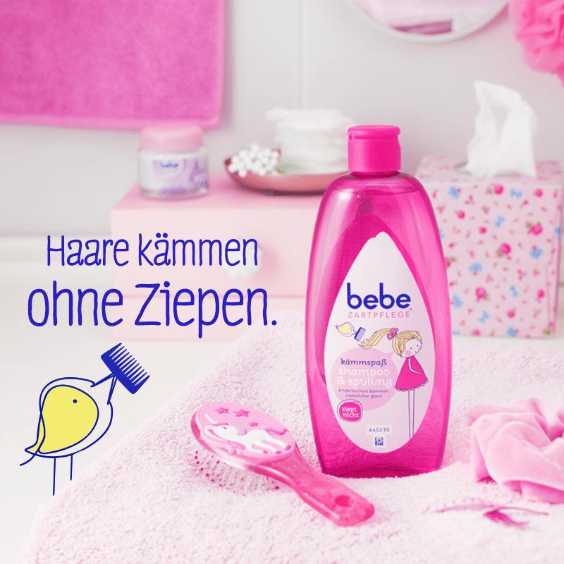 شامپو بچه 2 در 1 bebe آلمانی