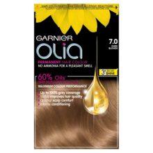 کیت رنگ موی مدل اولیا گارنیر شماره ۷ (جدید) | بدون آمونیاک، گیاهی، درخشان کننده