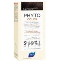 رنگ موی بدون آمونیاک فیتوکالر شماره ۴.۷۷ (جدید) | رنگ موی دائمی و گیاهی Phyto Phytocolor