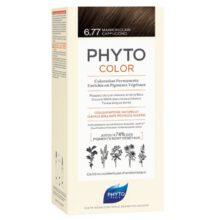 رنگ موی بدون آمونیاک فیتوکالر شماره ۶.۷۷ (جدید) | رنگ موی دائمی و گیاهی Phyto Phytocolor