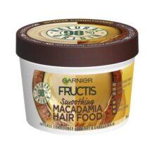 ماسک موی هیر فود ماکادمیا گارنیر (Hair Food)   مغذی، نرم کننده و ضخیم کننده تار مو   ۳۹۰ میل