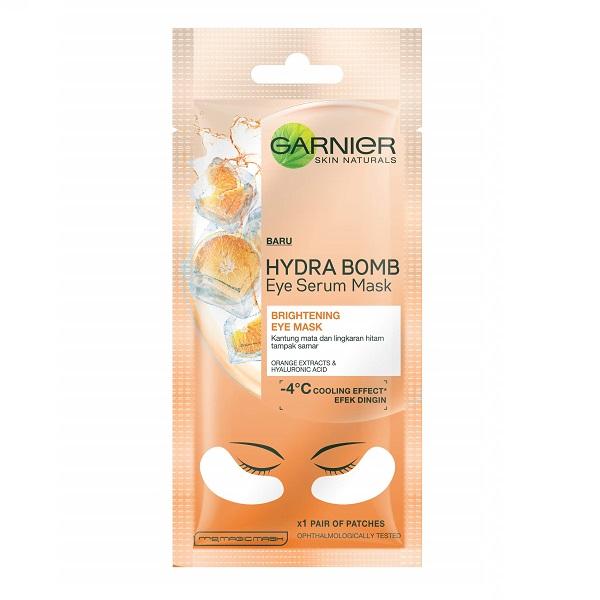 ماسک دور چشم پرتقال و هیالورونیک اسید گارنیر (پچ شیت ماسک دورچشم پرتقال و هیالورونیک اسید گارنیه)
