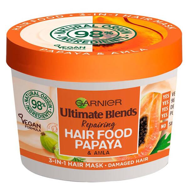 ماسک موی پاپایا سری هیرفود گارنیر (hair food)