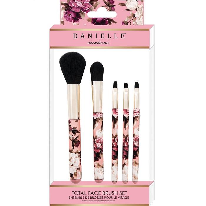 ست براش 5 عددی Vintage Floral دانیل (Danielle Creations Brush Set)