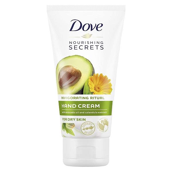 کرم دست آووکادو و همیشه بهار Secret داو (مرطوب کننده مغذی دست و ضد خشکی Dove Secrets)