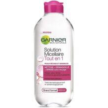 میسلارواتر پوست خشک و حساس Skin Active گارنیر اصل | آبرسان، ضد حساسیت | ۴۰۰ میل