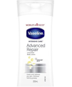 لوسیون بدن و دست ترمیم کننده وازلین (Vaseline Intensive Care Advanced Repair Unscented Body Lotion)