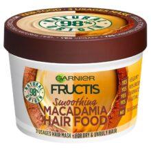 ماسک موی هیر فود ماکادمیا گارنیر اصل | مغذی، نرم کننده و ضخیم کننده تار مو | ۳۹۰ میل