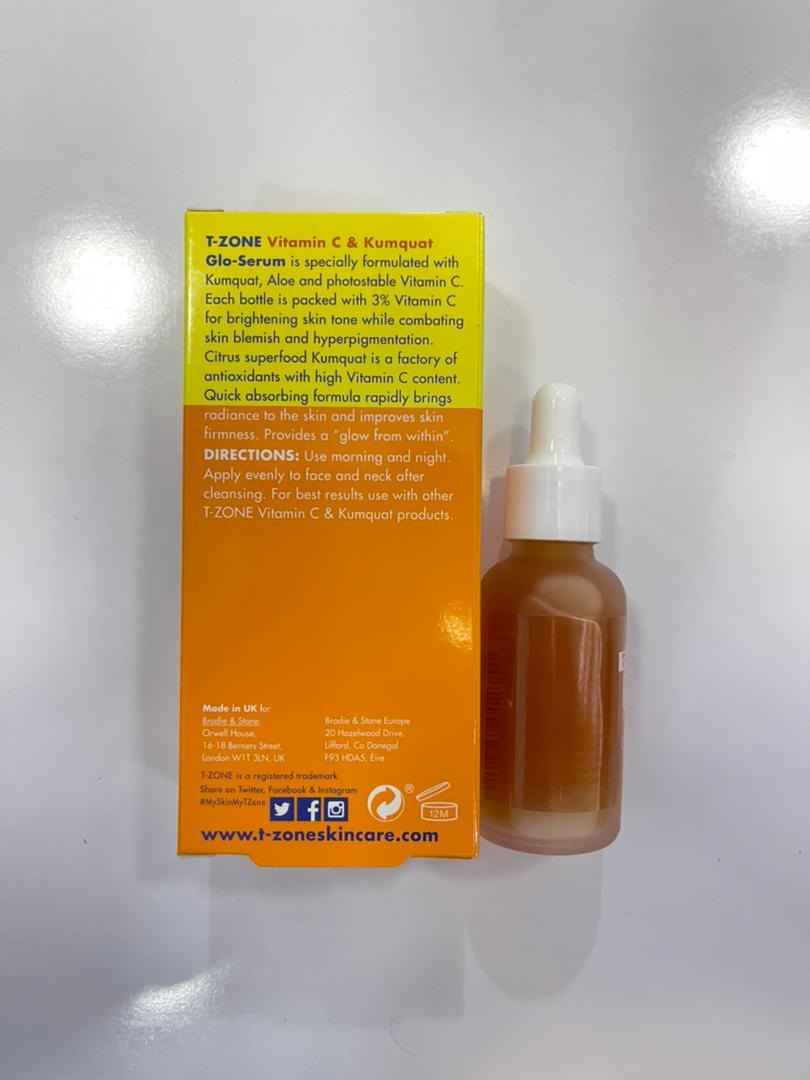 سرم ویتامین سی ۳% کامکوات تی زون