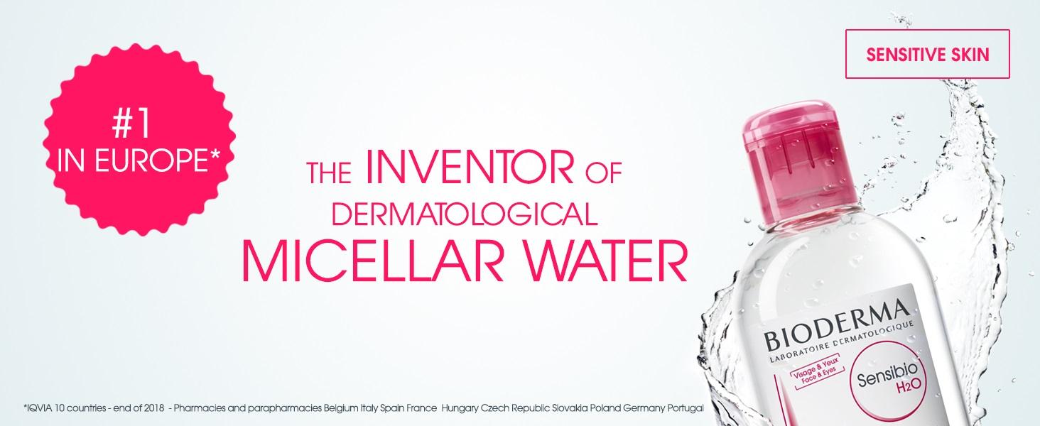 میسلار واتر Sensibio پوست حساس بایودرما | مناسب پوست نرمال تا خشک