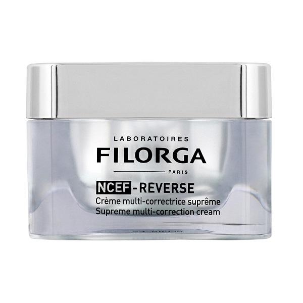کرم تصحیح کننده چند منظوره NCEF-REVERSE فیلورگا | جوانساز، ضد چین و چروک، افزایش استحکام و درخشندگی پوست بالغ Filorga