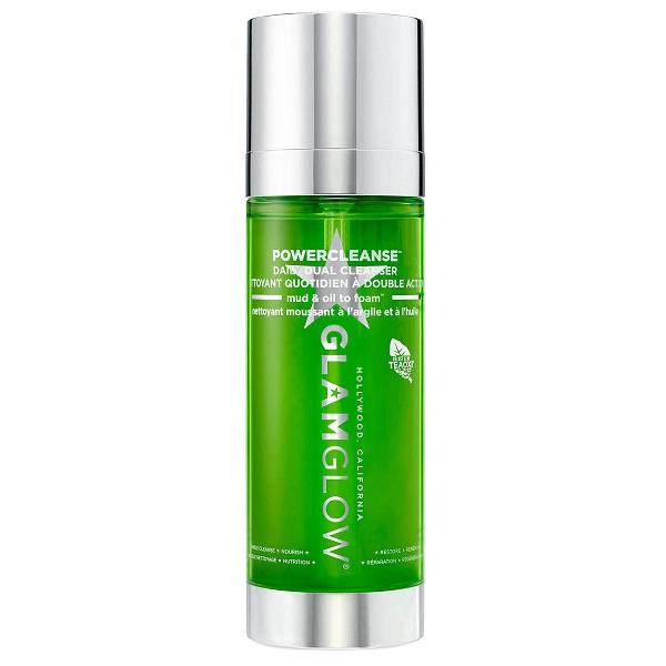 ژل شستشو پاکسازی دوگانه گلم گلو GLAMGLOW   پاکسازی کامل آرایش و منافذ انواع پوست