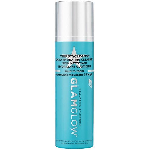 ژل شستشو پاکسازی آرایش و آبرسان گلم گلو GLAMGLOW   حاوی آب نارگیل، مناسب پوست خشک