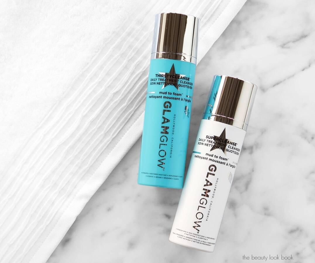 ژل شستشو آبرسان و پاکسازی آرایش گلم گلو GLAMGLOW | حاوی آب نارگیل، مناسب پوست خشک