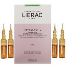 سرم ترمیم و ضد ترک phytolastil لیراک | بهبود استرچ مارک پوست | حاوی ۲۰ سرم ۵ میلی لیتر