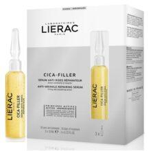 سرم سیکا فیلر لیراک (Lierac) | ترمیم کننده، ضد چروک، لیفت قوی پوست | دارای ۳ سرم ۱۰ میل