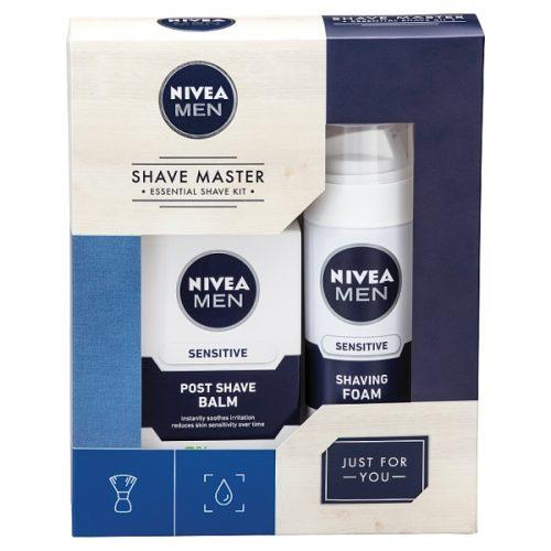 پک فوم اصلاح و افتر شیو نیوا (NIVEA duo essential shave kit)