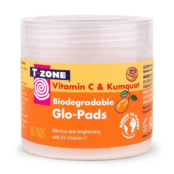 پد ویتامین سی 3% کامکوات تی زون (پد ویتامین C روشن کننده و ضد لک T-Zone)