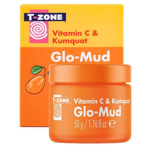 ماسک صورت ویتامین سی 3% کامکوات تی زون (ماسک ویتامین C و کامکوات روشن کننده صورت T-Zone)