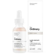 سرم اوردینری لاکتیک اسید ۱۰درصد ۳۰میل | لایه بردار خفیف و جوانساز و روشن کننده | The Ordinary Lactic Acid5%+HA