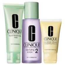 پک مراقبت روتین ۳ مرحلهای پوست شماره ۲ کلینیک | مخصوص پوست خشک و مختلط