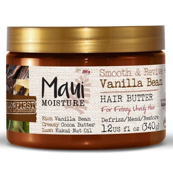 ماسک موی دانه وانیل مائویی maui vanilla bean اصل | ضد وز، آبرسان، صاف و ترمیم کننده قوی مو