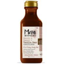 نرم کننده دانه وانیل Vanilla Bean مائویی Maui اصل | ضد وز، آبرسان، ترمیم کننده قوی مو | ۳۸۵ میل