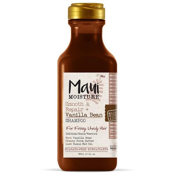 شامپو دانه وانیل مائویی Maui Vanilla Bean اصل | ضد وز، آبرسان، ترمیم کننده قوی مو