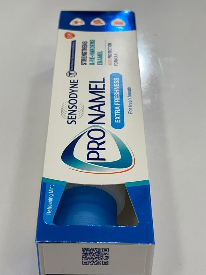 خمیر دندان پرونمل pronamel اکسترا فرش