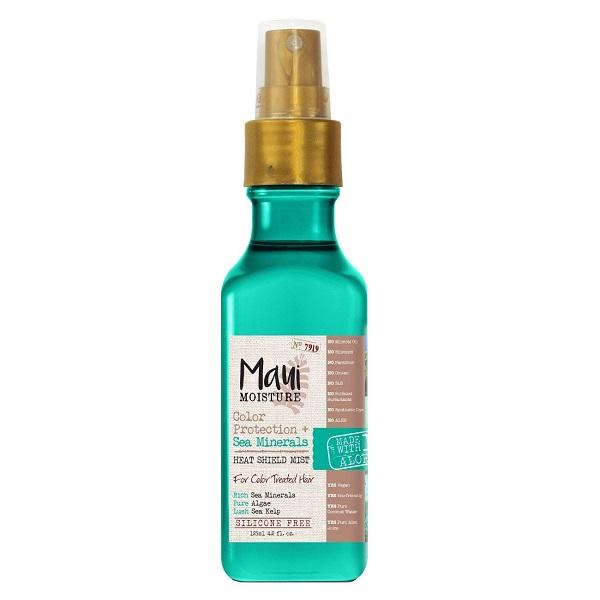 اسپری مو مواد معدنی دریایی مائویی (Maui) اصل | محافظت از مو در برابر گرما و دمای بالا، تثبیت رنگ مو | Color Protection Sea Minerals Heat Shield Mist 125ml