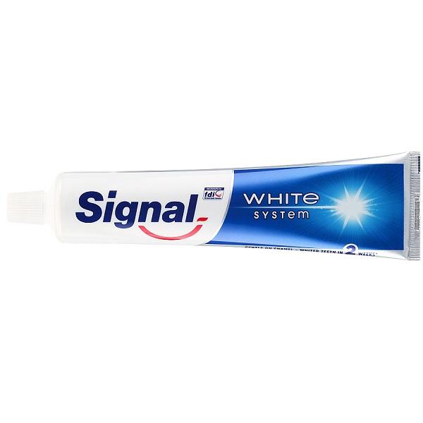 خمیر دندان سفید کننده سیگنال | مدل Signal White System | اصل انگلیس، حجم 125 میل