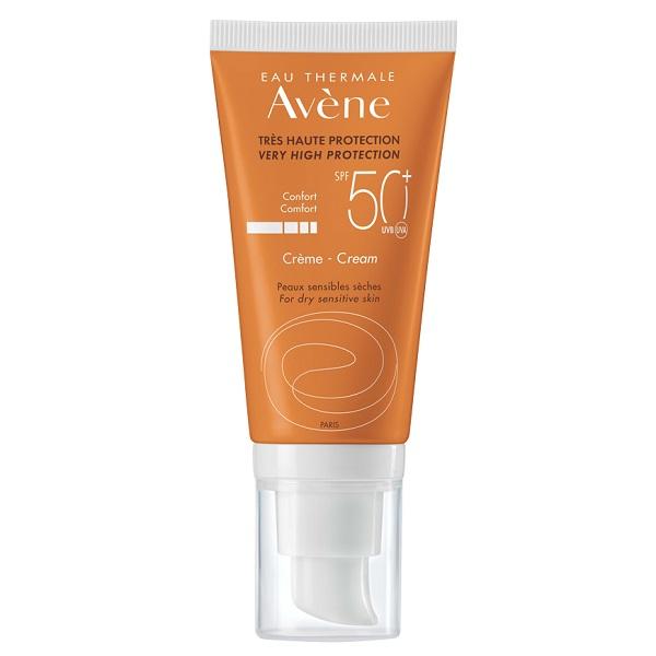 کرم ضد آفتاب پوست خشک SPF50+ اون Avene برای پوست خشک حساس به نور آفتاب – تولید اصل فرانسه