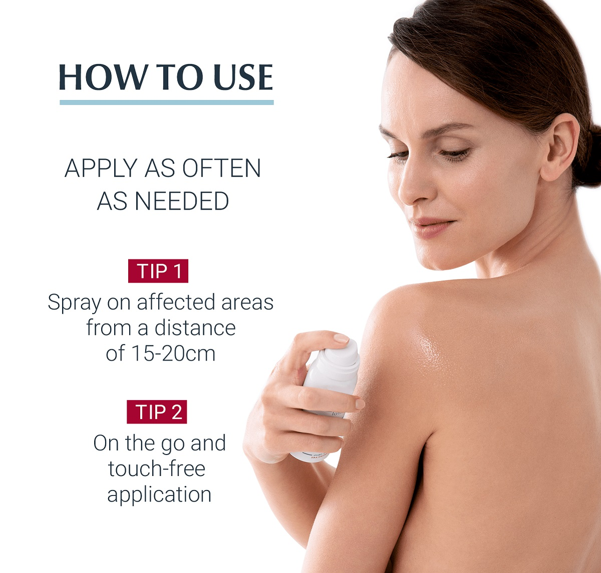 اسپری ضد التهاب و خارش پوست اوسرین مدل AtopiControl Anti-Itch | ضد خارش موضعی و فوری در 60 ثانیه آتوپی کنترل Eucerin