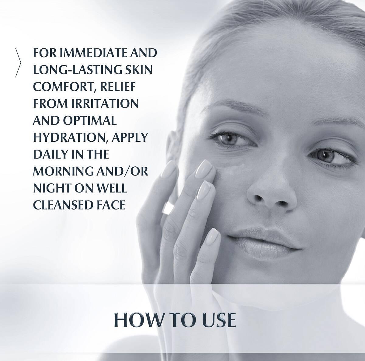 کرم مرطوب کننده پوست آسیب دیده و بسیار حساس اوسرین مدل UltraSENSITIVE | ضد حساسیت آبرسان ترمیم کننده پوست خشک Eucerin Soothing Care