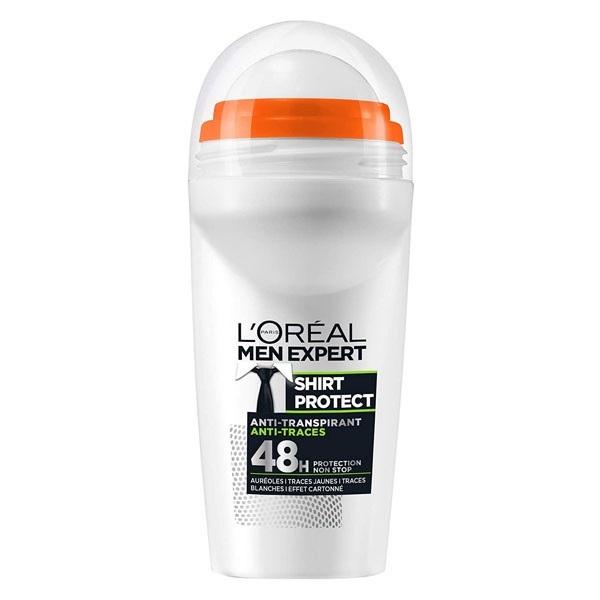 مام رول ضد عرق مردانه Shirt Protect لورال 48 ساعته مدلL'Oréal Men Expert Shirt Protect