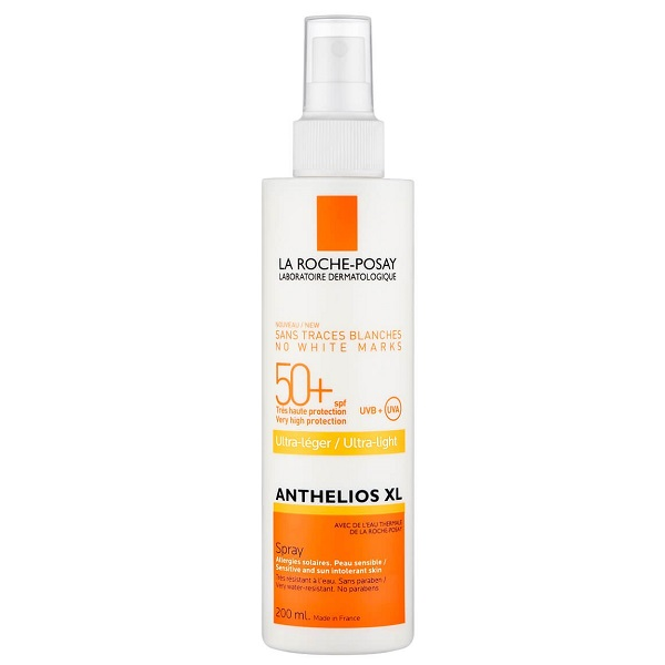 اسپری ضدآفتاب ANTHELIOS XL لاروش پوزای با SPF50+ (آنتلیوس ایکس ال La Roche-Posay) برای صورت و بدن، ضد آفتاب اصل خارجی و بی رنگ