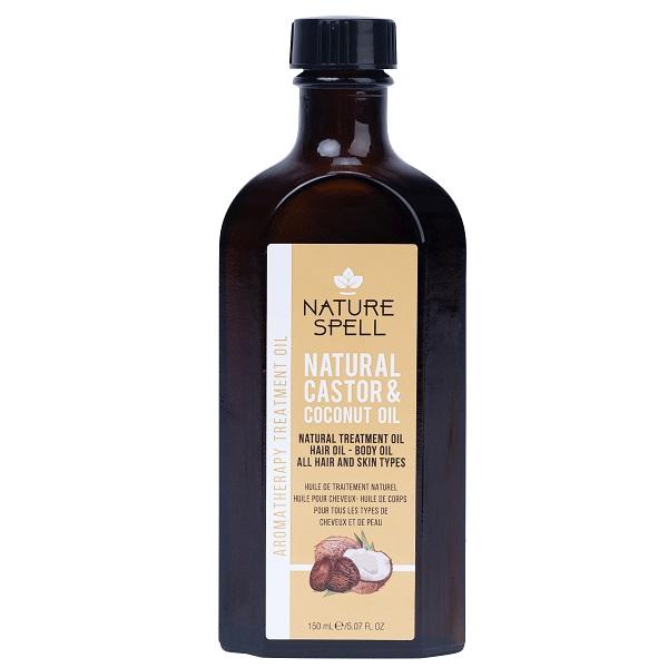 روغن کرچک و نارگیل نچر سپیل Nature Spell Castor &Coconut Treatment Oil