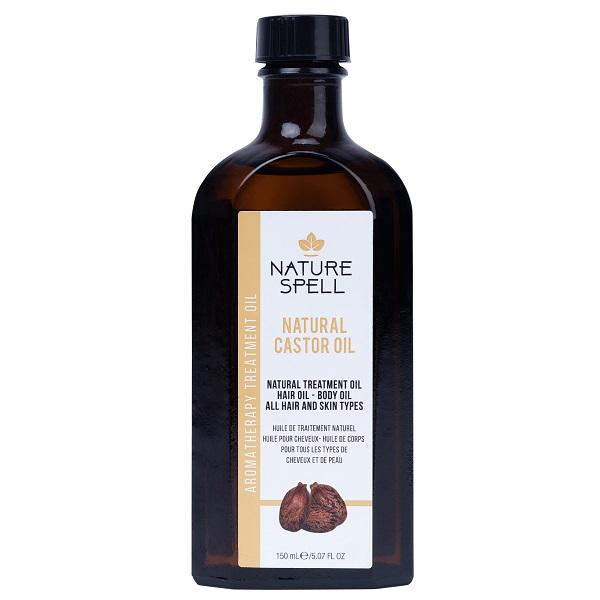 روغن کرچک مو و بدن نچر سپیل انگلیس Nature Spell Castor Treatment Oil For Hair & Body