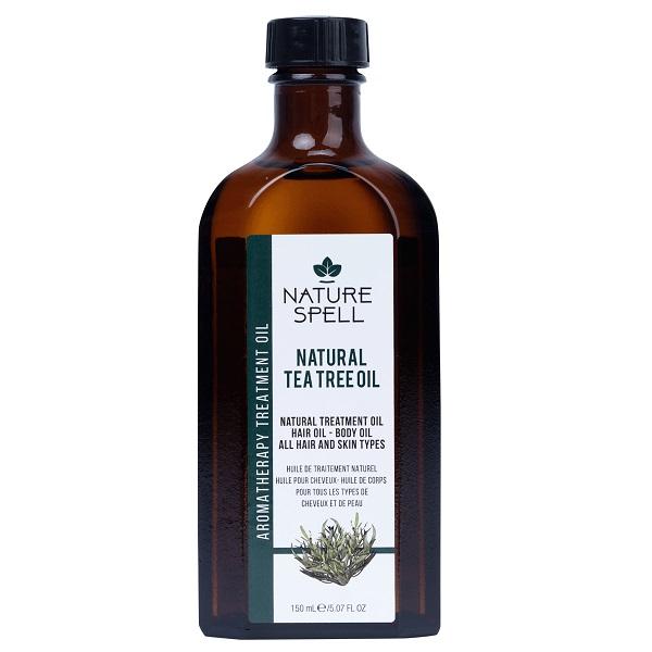 روغن چای مو و بدن نچر سپیل انگلیس - Nature Spell Tea Tree Treatment Oil For Hair & Body