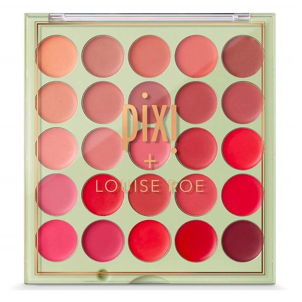 پالت رژ لب Louise roe پیکسی 25 عددی (پالت لویز رو Pixi Cream Rouge Palette Louise Roe)
