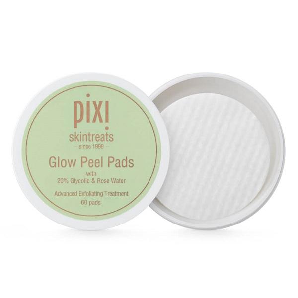 پد لایه بردار گلو Glow پیکسی PIXI Peel Pads حاوی گلیکولیک اسید 20% تعداد 60 عدد | ضد لک، ضد چروک و منافذ پوست
