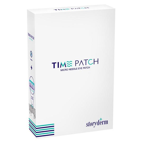 پچ بوتاکس ضد چروک استوری درم B-Tox Anti-Wrinkle Time Patch | حاوی 5 بسته دوتایی پچ میکرونیدل