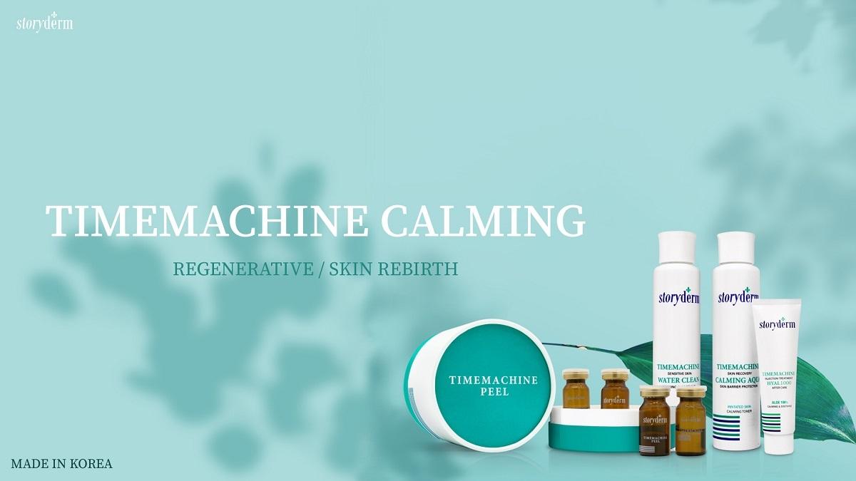لایه بردار پیلینگ تایم ماشین استوری درم (Storyderm Timemachine) | جوانساز، احیا کننده، ترمیم و بازسازی قوی پوست صورت