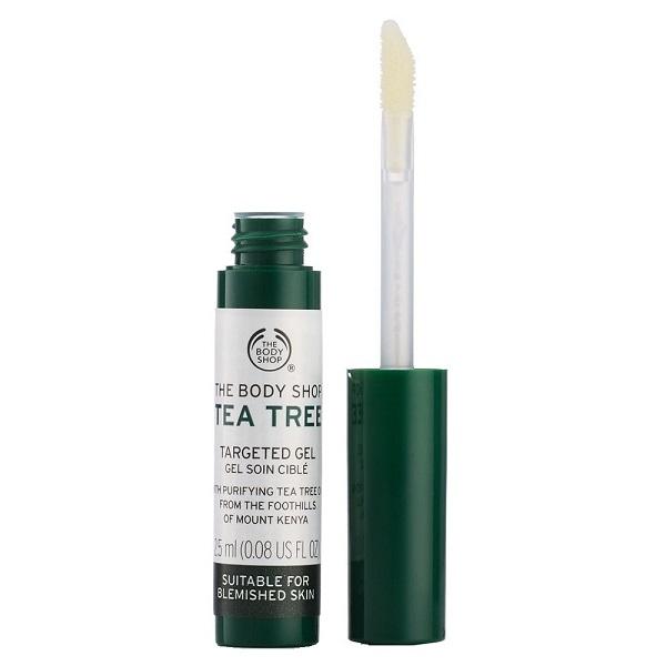 ژل ضدجوش درخت چای بادی شاپ (خشک کردن سریع جوش و التهاب آن بدون خشکی) - The Body Shop Tea Tree Targeted Gel