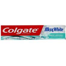 خمیر دندان کولگیت مدل  Max White اصل حاوی کریستال نعنا | سفیدکننده قوی دندان | ۷۵ میل