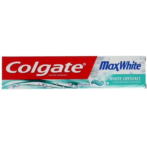 خمیر دندان کولگیت مدل Max White (خمیردندان سفید کننده مکس وایت Colgate White Crystal)