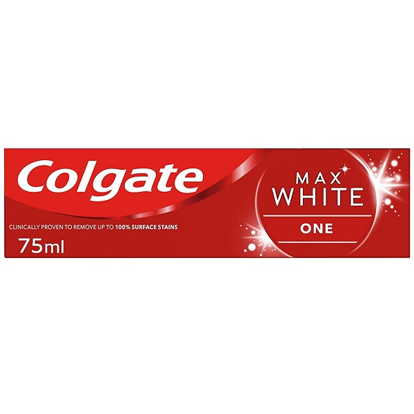 خمیر دندان سفید کننده مکس وایت کولگیت مدل Max White حجم 75 میل | ضد حساسیت با طعم نعنایی