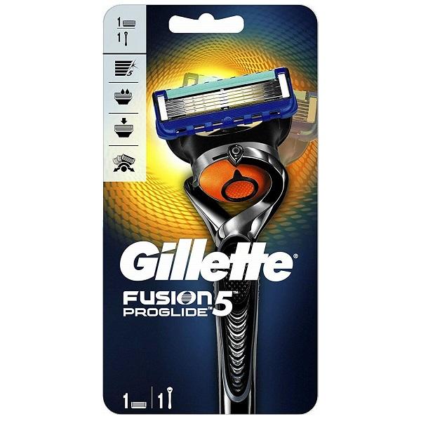 خودتراش ژیلت مدل فیوژن پروگلاید (تیغ اصلاح Gillette Fusion 5 proglide flexball razor 5 blades)