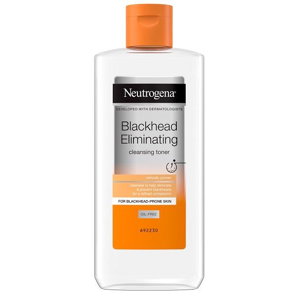 تونر ضد جوش سرسیاه نیتروژنا (پاکسازی و از بین برنده جوش سرسیاه در پوست چرب) - Neutrogena Blackhead Eliminating Cleansing Toner