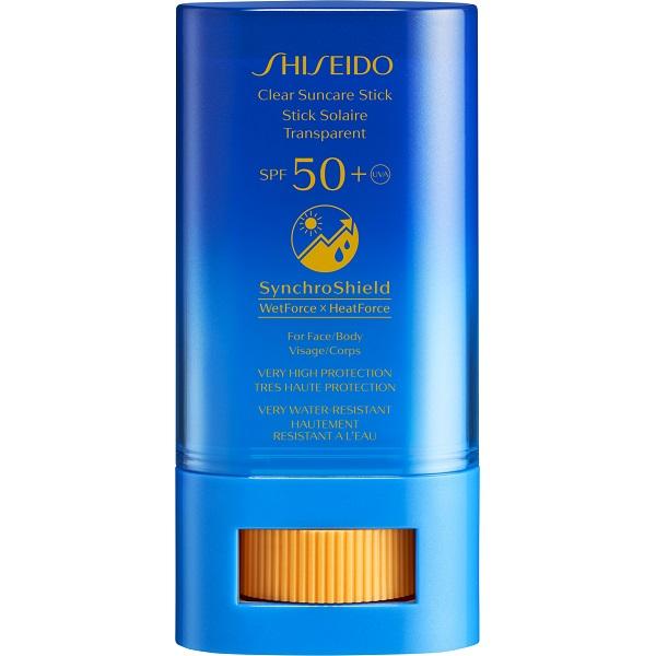 ضد آفتاب استیکی شیسیدو SPF50 بدون رنگ و ضد آب اس پی اف +50 - Shiseido Clear Sunscreen Stick spf 50